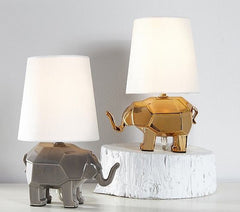 mini kids lamps with elephant bases