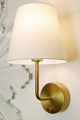 brass cordless wall lamp by modern lantern