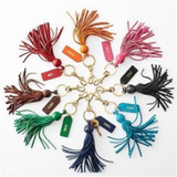 keychain tassels by mark and graham