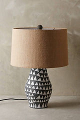 Tribal lamp by Antropologie