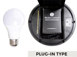 10w led with extra li-ion battery from modern lantern cordless lamps