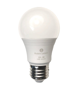 XTRA 12V LED BULBS (regular 3W or 5W), LED bulb, Modern Lantern - 1