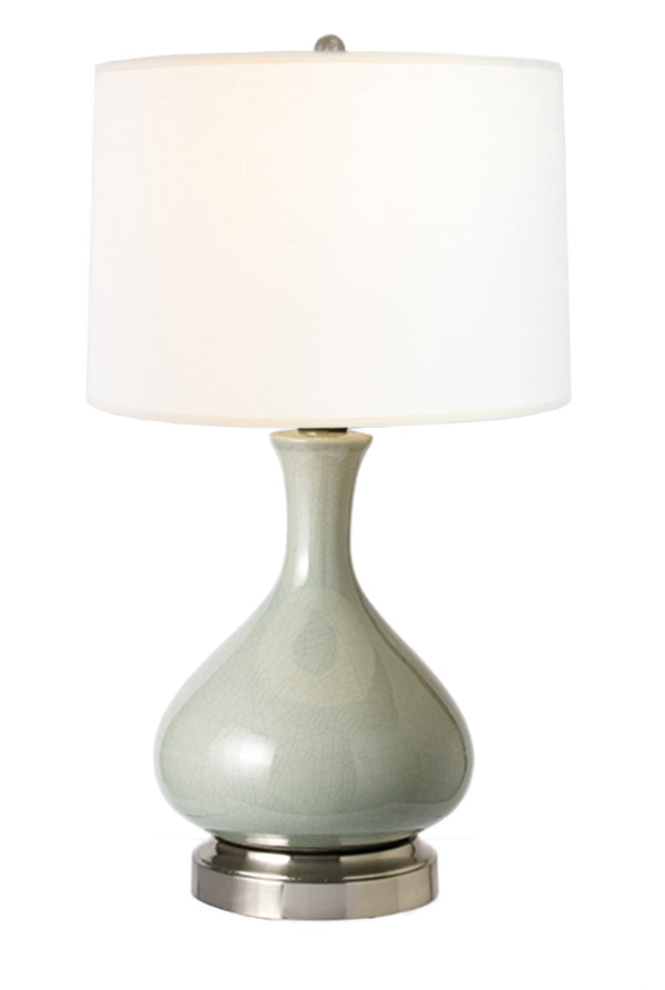 Bartlett Celadon Cordless Lamp Made In The Usa Modern Lantern