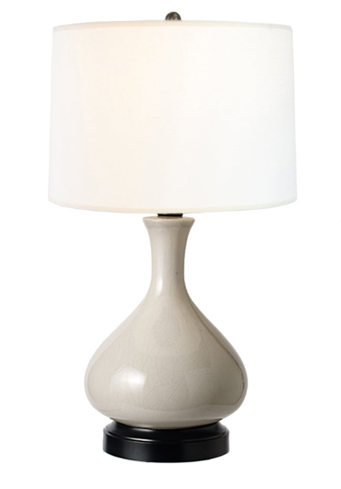 Captivating Bartlett Gray Cordless Lamp, Lamps Made In The USA, Rechargeable Lamp,  Battery Operated