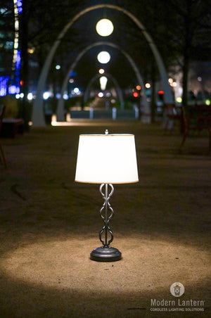 Clove Cordless Table Lamp - GunMetal
