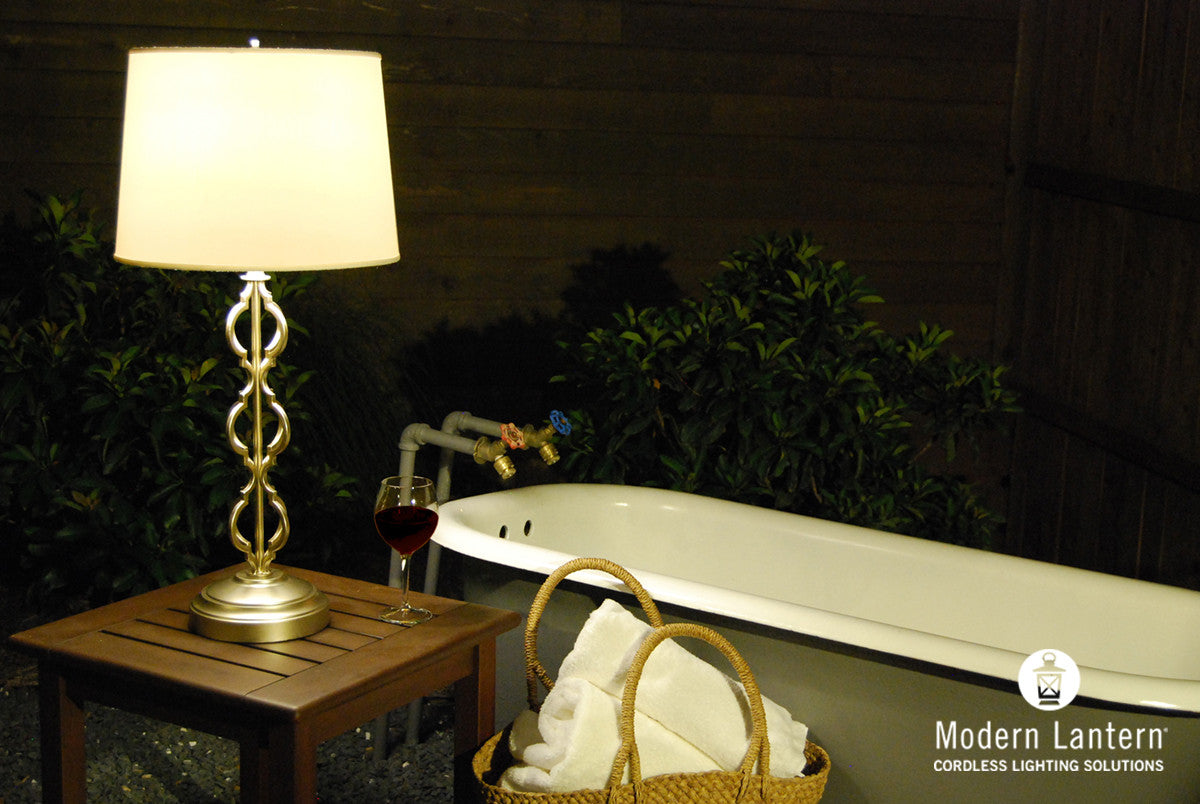 Products modern lantern clove cordless rechargeable table lamp for anyspace no cords no plugs aloadofball Images