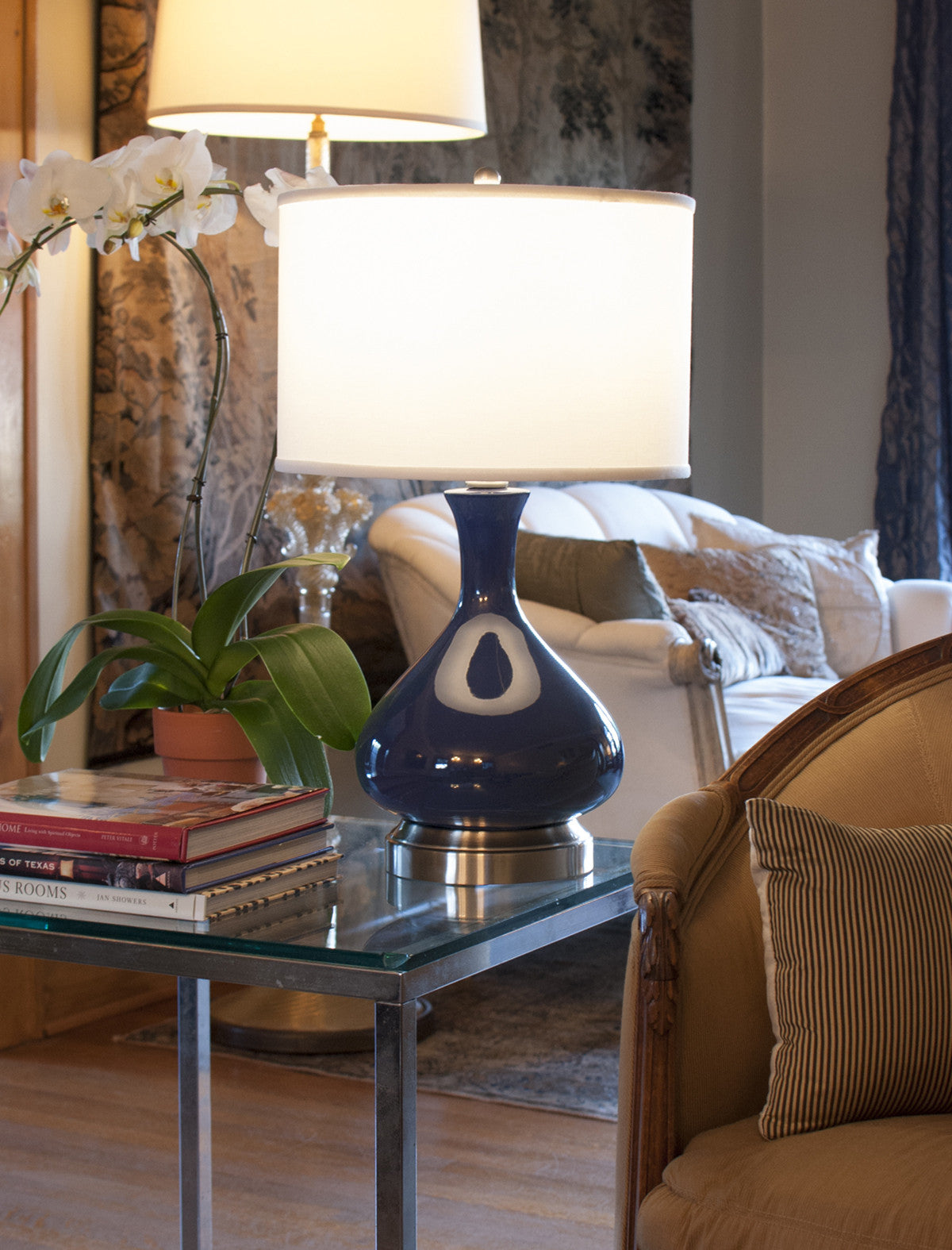 Lapis Cordless Rechargeable Lamp By Modern Lantern