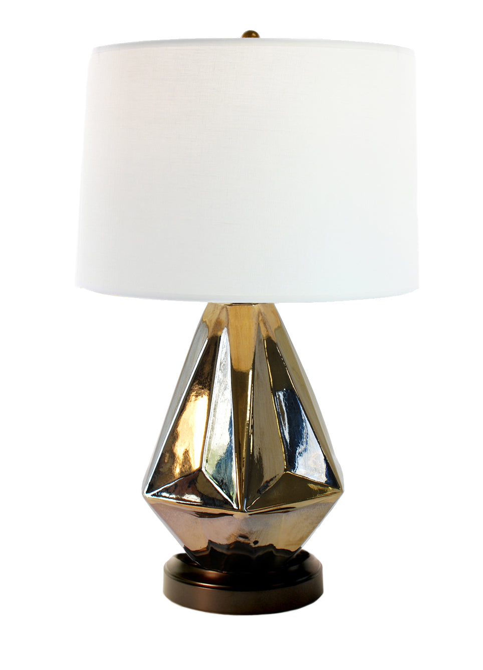 Prisma bronze cordless lamp made in the usa modern lantern prisma cordless table lamp battery operated by modern lantern geotapseo Images