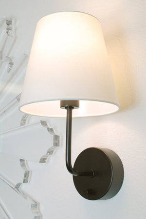 cordless wall sconce by modern lantern - bronze
