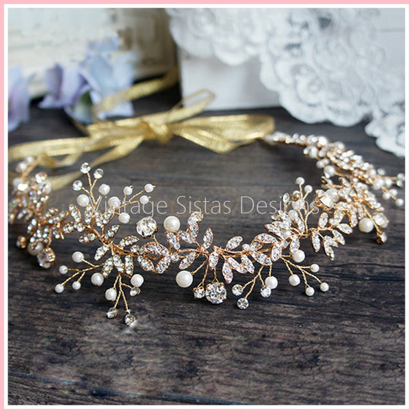 Nature Inspired Wedding Headpiece