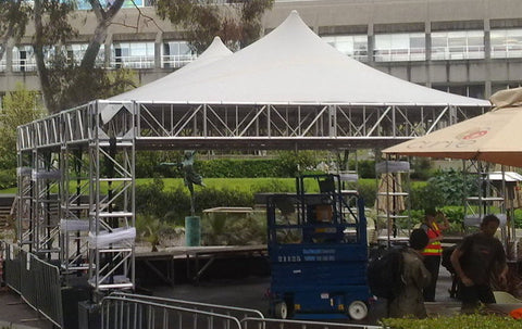 Mega Dome Stretch Tent Truss Stage Stretch Event Tents Usa