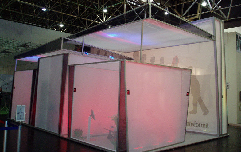 Exhibition Stand And Trade Show Booth Design Stretch Event Tents Usa