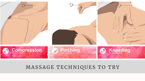 Easy massage techniques to do at home by Désirables