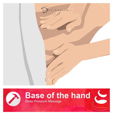 Base of the hand - Deep Pressure Massage Techniques