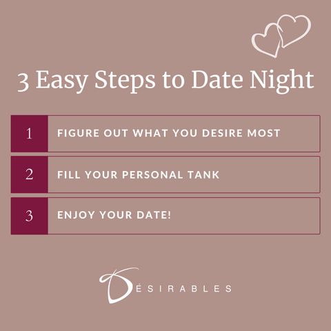 3 Easy steps to a Date Night-In by Désirables