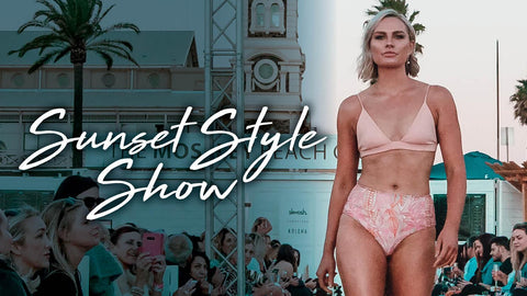 Catch Harvey The Label on the runway at the Sunset Style