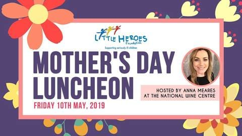 Catch Harvey on the runway at the Little Heroes Mother's Day
