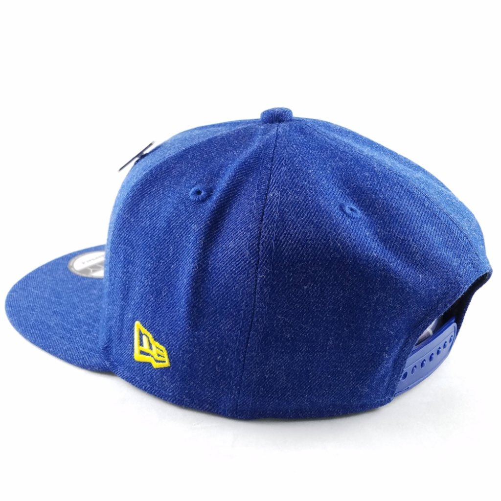 size 40 a239c b16db Golden State Warriors Heather Edition Pinned Snapback ...