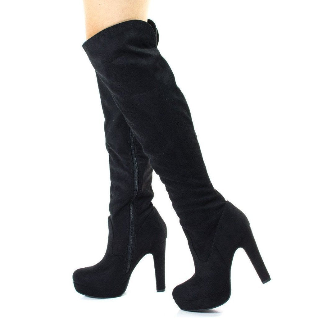 db32ff48712 Jaclyn Knee High Boots