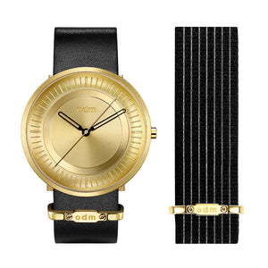 """NEW"" odm Men Women DD170 SOLAR Series Wristwatch(2pcs straps)"