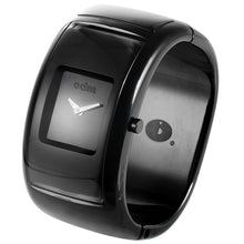 "Load image into Gallery viewer, ""HOT"" Classic Women Men Black Bracelet Wristwatch DD121-14"