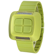 "Load image into Gallery viewer, ""HOT"" Unique Design Women Men Green Wristwatch MY02-03"