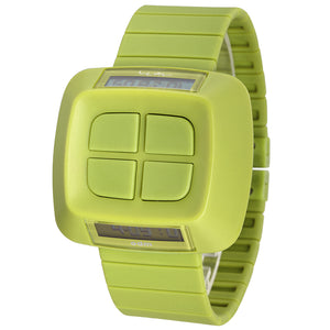"""HOT"" Unique Design Women Men Green Wristwatch MY02-03"