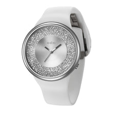 "Load image into Gallery viewer, ""New"" o.d.m. DD184-01 Women Swarovski Crystal Dial Wristwatch"