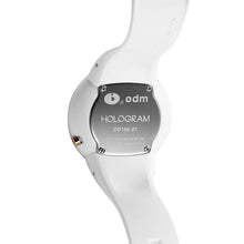 "Load image into Gallery viewer, ""HOT"" odm DD156-01 Hologram white Swarovski crystal fashion watch"