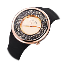 "Load image into Gallery viewer, ""HOT"" odm DD156-05 Hologram rosegold crystal fashion watch"