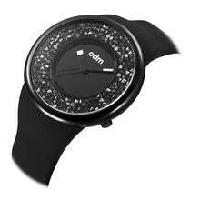 "Load image into Gallery viewer, ""HOT"" odm DD156-04 Hologram black crystal fashion watch"