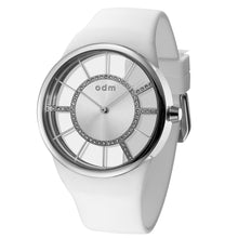 "Load image into Gallery viewer, ""New"" o.d.m. DD183-01 Women Swarovski Crystal Dial Wristwatch"