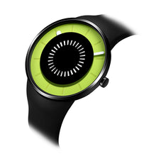 "Load image into Gallery viewer, ""New"" odm DD162-05 BOUNCING black&lime fashion watch"