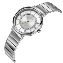 "Load image into Gallery viewer, ""New"" o.d.m. DD179-05 Women Swarovski Crystal Dial Wristwatch"