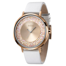"Load image into Gallery viewer, ""New"" o.d.m. DD180-02 Women Swarovski Crystal Dial Wristwatch"