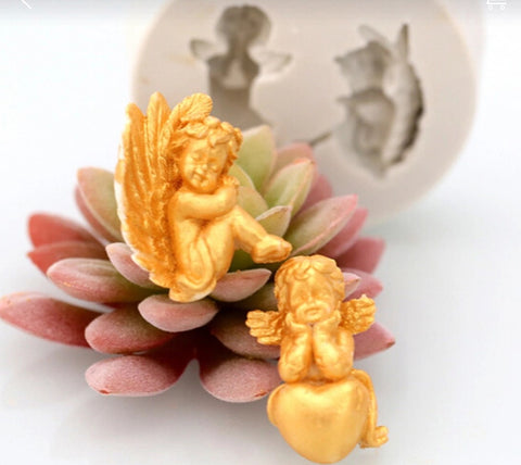 Cherubs 1 Ready Silicone Mold