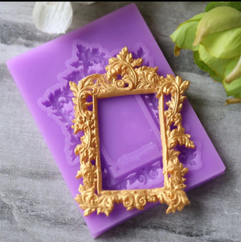 Frame Vintage Ready Silicone Mold