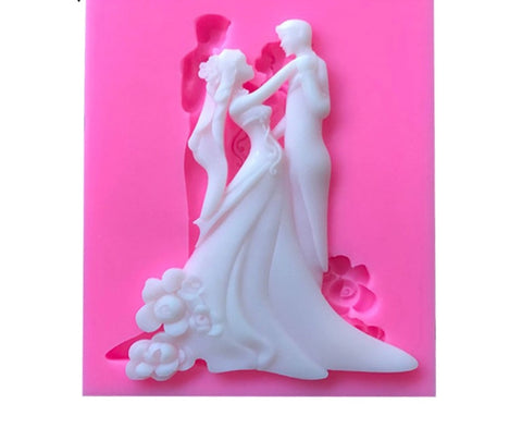 Bride and Groom Ready Silicone Mold