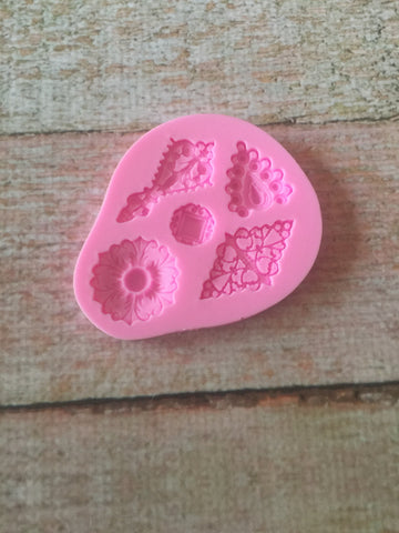 Jewels Ready Silicone Mold $5
