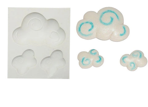 Clouds Ready Silicone Mold
