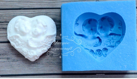 Love Heart Ready Silicone Mold $5