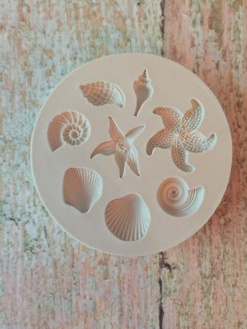 Seashells #5 Ready Silicone Mold $5