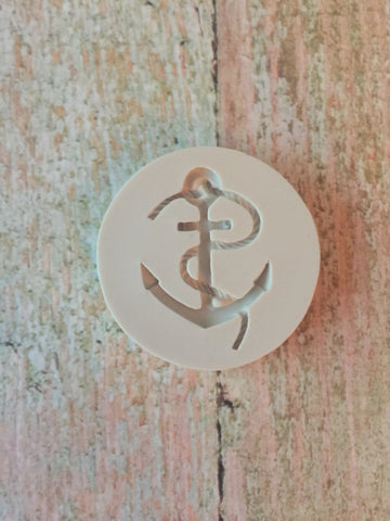 Anchor Ready Silicone Mold $5