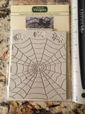 Spiders and Web by Katy Sue Ready Silicone Mold