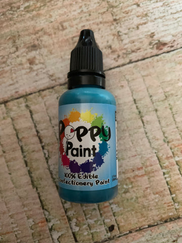 Teal Poppy Paints
