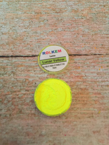 Rolkem Lumo Lunar Neon Yellow Edible Dust