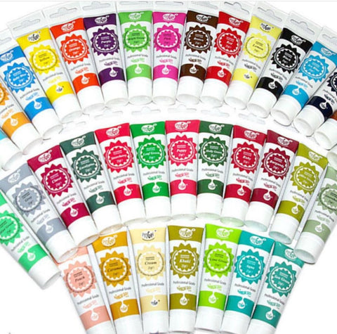 Rainbow Dust Progel Full Set Gel Food Coloring