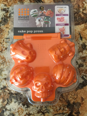 Halloween Cakepop Press