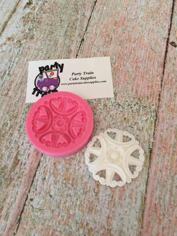 Embellishments #16 Ready Silicone Mold $5