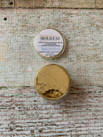 Rolkem Special Gold Edible Dust